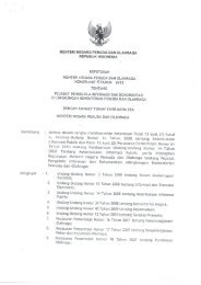 Kementerian Pemuda dan Olahraga - Open Government Indonesia