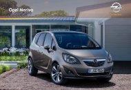 Prospekt Opel Meriva - Garage im Steiger AG