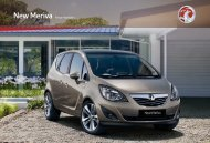 New Meriva Range Highlights - OSV Limited