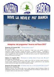 INVERNO NEL PARCO 2012 x skipass - Parco del Frignano