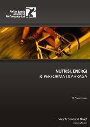 nutrisi, energi & performa olahraga - Polton Sports Science ...