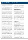 DIIS POLICY BRIEF Development goals post 2015: Reduce inequality - Page 2