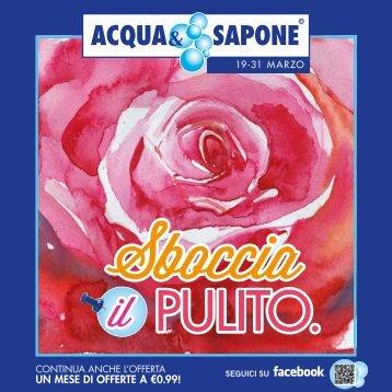UN MESE DI OFFERTE A €0.99! - Acqua & Sapone