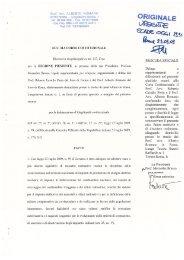 Prof. Avv. ALBERTO' ROMANO 00153 ROMA - Lungotevere Sanzio ...