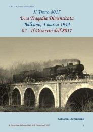Il Treno 8017 Una Tragedia Dimenticata Balvano, 3 ... - Vesuvioweb