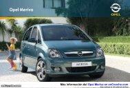 Catálogo del Opel Meriva - enCooche.com