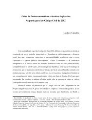 Crise de fontes normativas e técnicas legislativa Na ... - eGov UFSC