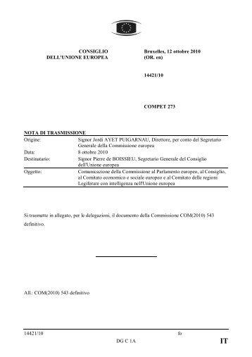 Comunicazione - Assemblea Legislativa
