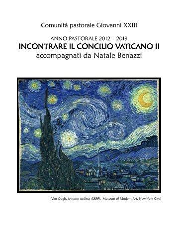 INCONTRARE IL CONCILIO VATICANO II ... - barona UP