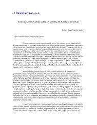 Considerações Gerais sobre os Crimes de Roubo e ... - eGov UFSC