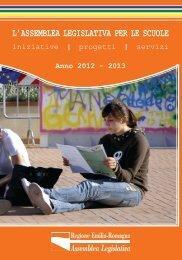 l'assemblea legislativa per le scuole - Regione Emilia Romagna