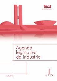 Agenda Legislativa da Indústria 2013 - CNI