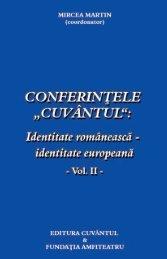 identitate europeană VOL2, Mircea Martin, 2008 - CRRT