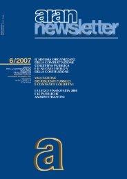 2007 - N. 6 - Aran