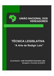 Técnica Legislativa e Processo Legislativo