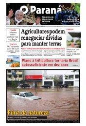 Agricultores podem renegociar dívidas para manter terras - O Paraná
