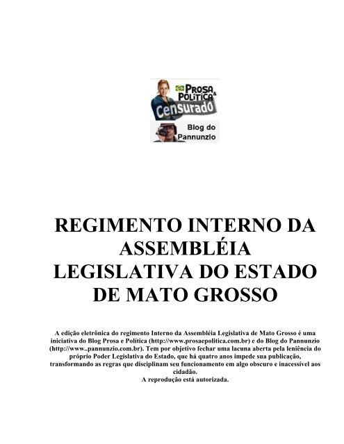 BAIXAR ALERJ O INTERNO DA REGIMENTO