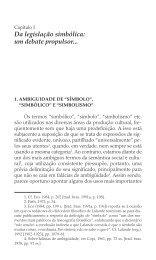Da legislação simbólica - Livraria Martins Fontes
