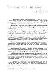 Súmula vinculante - Tribunal de Justiça do Estado do Ceará