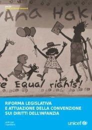 riforma legislativa e attuazione della convenzione sui diritti dell ...