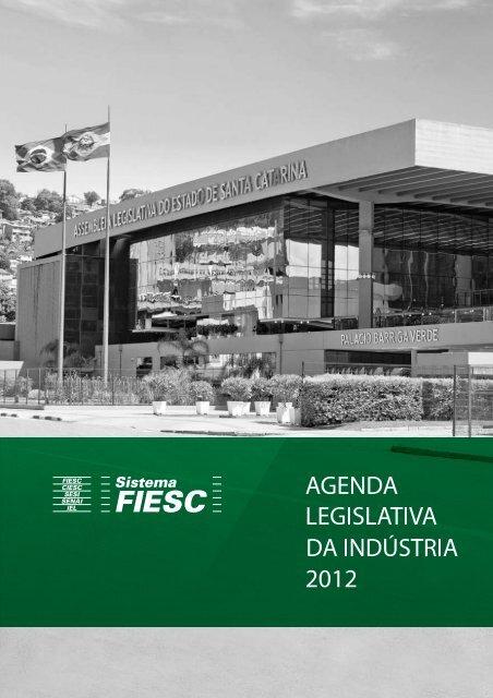 Agenda Legislativa 2012 - Fiesc
