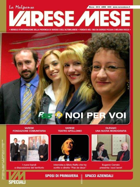 best website 86c57 cf6dc SPOSI DI PRIMAVERA SPACCI AZIENDALI - Varese Mese