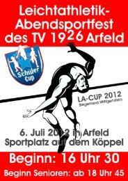 6.7.2012 Abendsportfest (vereinsoffen) des TV ... - LG Wittgenstein