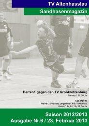 Sandhasenmagazin 05 - TV Altenhasslau
