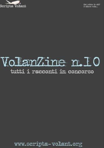 VolanZine n°10: tutti i racconti in concorso - Scripta Volant