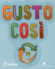 Gusto Così - Calendario Anno 2009 - Comieco