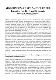 MODERNIZZARE SENZA ESCLUDERE - Enaip