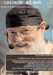 Scarica la rivista contenente l'intervista - Fabrizio Mondo