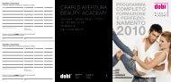 namento 2010 - DOBI Beauty Academy - Dobi-Inter AG