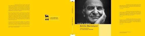 inedita energia Attilio Bertolucci - Eni