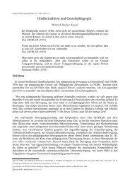 Heinrich Dauber: Gindlertradition und Gestaltpädagogik - DGIB