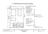 1.1.1 Blattaufteilung für A4-Formate in Hochlage Beispiel für ...