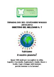 Thinking day 2012 - Agesci