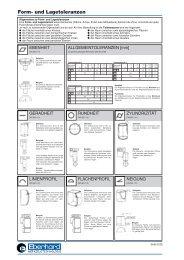 Form- und Lagetoleranzen - Norm Teknik A/S
