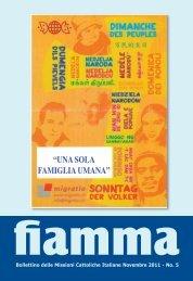05 • 2011 - Missioni cattoliche di lingua italiana