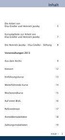 Veranstaltungsplan 2013 - Heinrich Jacoby - Elsa Gindler - Stiftung - Seite 3