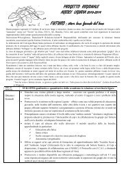 progetto regionale 2010 2014.pdf - Agesci Liguria