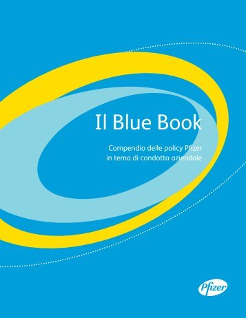 Il Blue Book - Pfizer