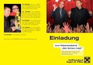 Max Mayerhofer & Wolf Gruber Österreichs Nr. 1 in ... - Raiffeisen