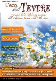 Marzo 2012 - Scarica l'edizione in PDF - Saturno Notizie