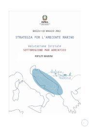 6.1 Mar Adriatico - La strategia marina - Ispra