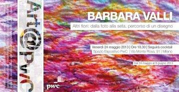 BARBARA VALLI_mostra PwC