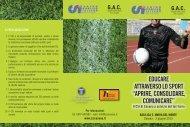 Pieghevole 2 giugno - Unione Sportiva San Marco
