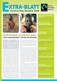 Fairtrade-Schokolade: