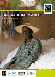 FAIRTRADE-BAUMWOLLE
