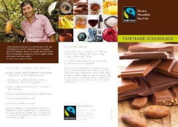 090043 Flyer Schokolade RZ:Flyer Schokolade - Fairtrade